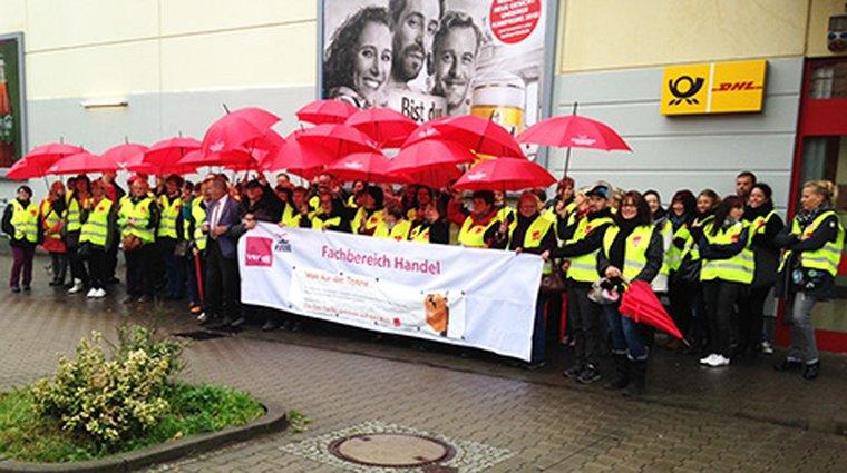 Streik Hohen Neuendorf