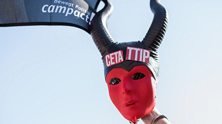 Anti-TTIP Demo Teufel