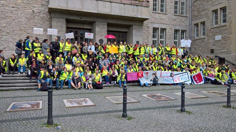 Streik in Neukölln