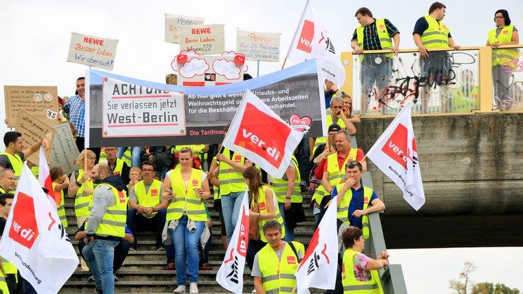 Streik in Dallgow