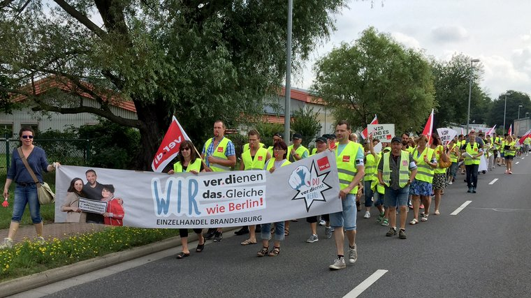 Streik Lübbenau