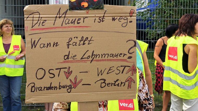 Streik Lübbenau 2. August