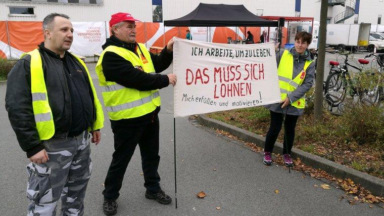 Streik bei Zalando am 4. Sept. 2017